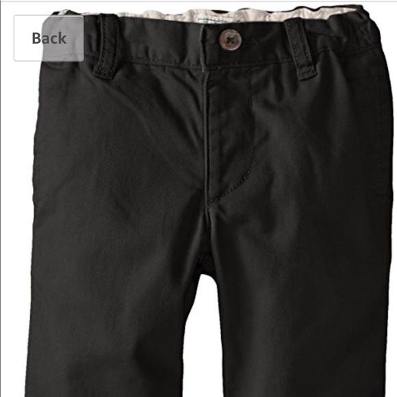 Childrens Place Bottoms Toddler Boys Black Pants Poshmark